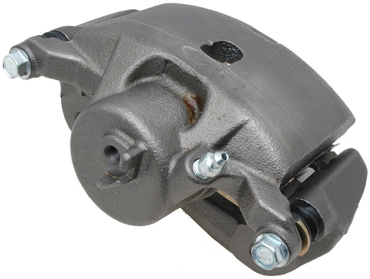 Disc Brake Caliper-Non-Coated Loaded with Ceramic Pads Front Left 18R2154 Reman